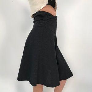 Vintage DKNY Wool Midi Skirt